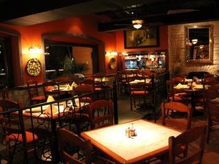 Las Ventanas Mexican restaurant Energy Corridor dining room