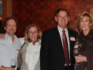 Eric Bailey, Sidney Douglas, Mark Carney, Karen Carney
