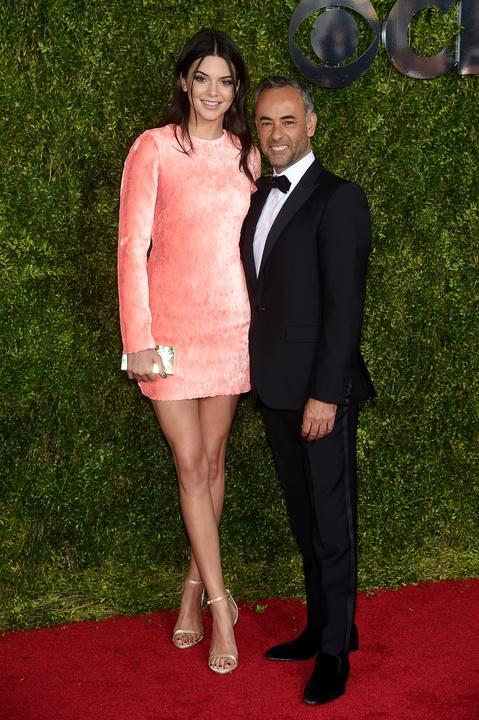 Tony Awards 2015 Kendall Jenner and Italo Zucchelli