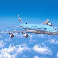 Korean Air airplane jet