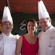 Chef Yutaka Yamato, Christine Ha, Chef Michael Scott, Sushi, Sake, Samurai