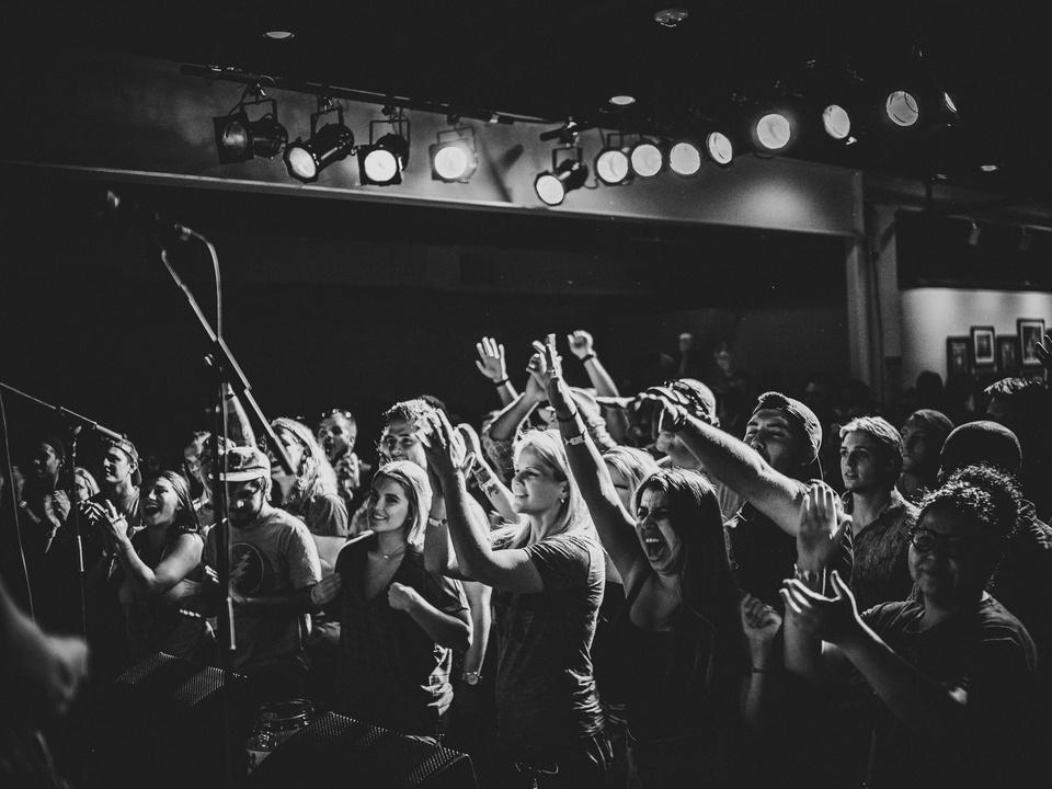Gary Clark Jr. Antone's show crowd