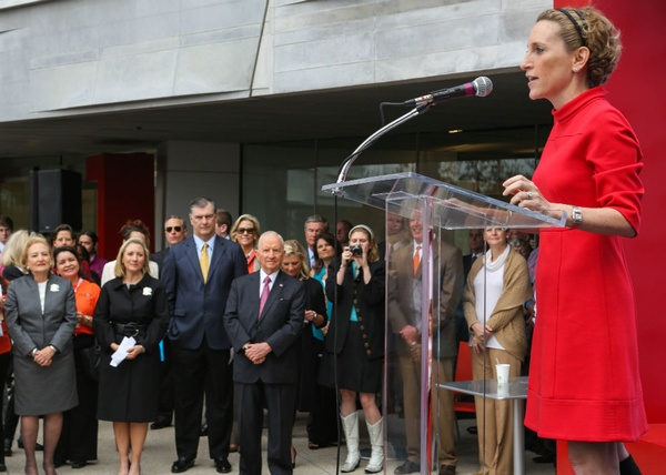 Perot Museum of Nature and Science grand opening