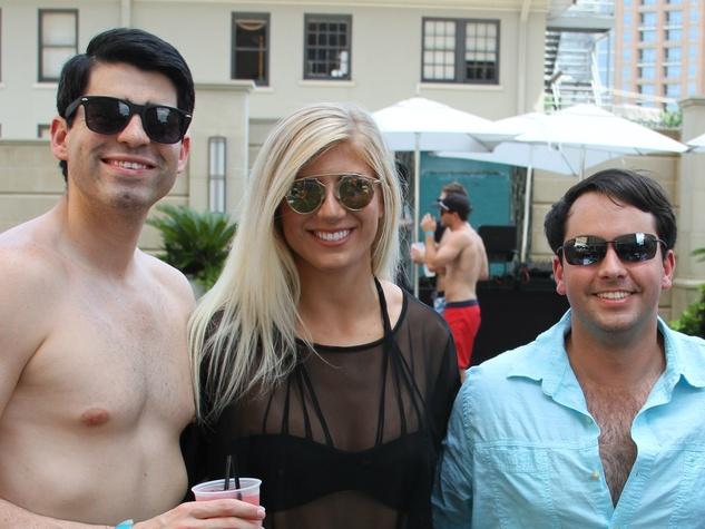 Jake Harvey, Brittany Sweeney, Diego Garcia