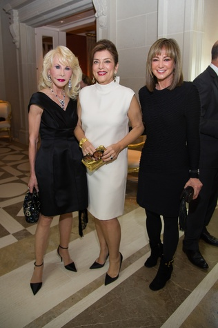 42 Diane Like Farb, from left, Dancie Ware and Janet Gurwitch at the Zadok jewelry dinner October 2014