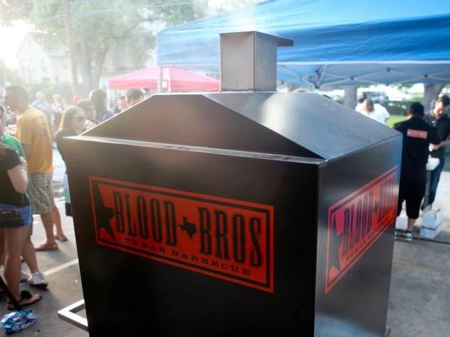Blood Bros. BBQ smoker