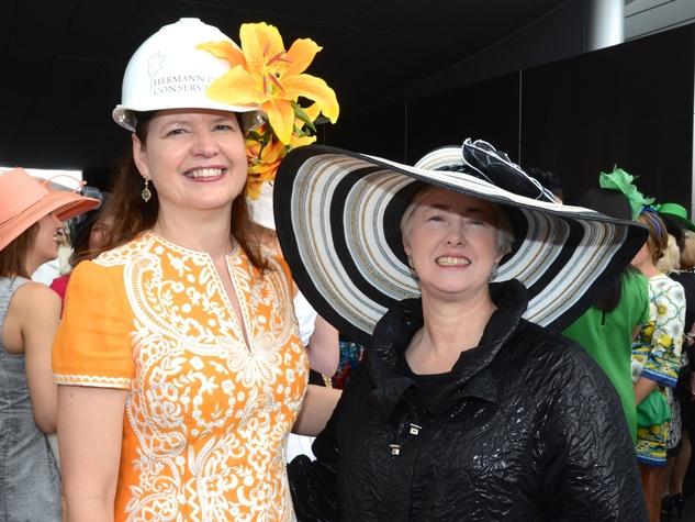 News, Shelby, Hermann Park Conservancy Hats in the Park, Doreen Stoller, Mayor Annise Parker
