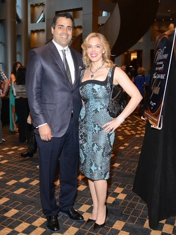 15 Nick and Jenee Stefanakis at the Matt Schaub Hope Can Heal Gala April 2014