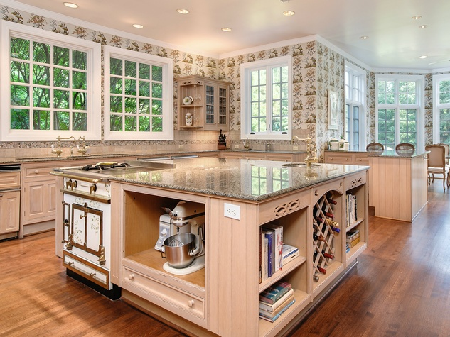 Kitchen at 10770 Inwood Rd. in Dallas