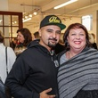 8 GONZO247 and Christine Jelson West at the Art on the Avenue benefit November 2014
