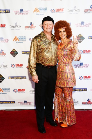 News, Shelby, American Subcontractors Association party, August 2014, David Wright and Brianna Boudreau