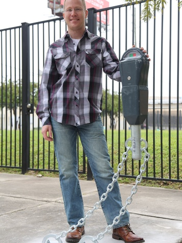 8 art parking meters Houston October 2013