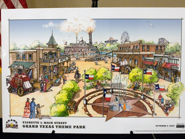 Grand Texas theme park meeting December 2013