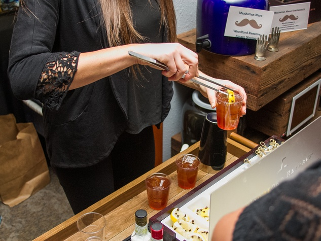 Woodford Reserve Movember Event at Kunst Gallery
