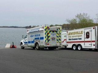 Lake Lewisville drowning