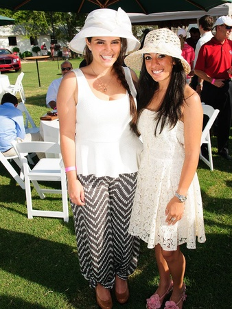 Texas Children's Hospital Polo Classic, Hats & Horses, September 2012, Alexis Kuri, Priya Bedi