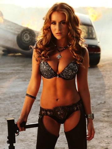 Alexa Vega starring in Machete Kills