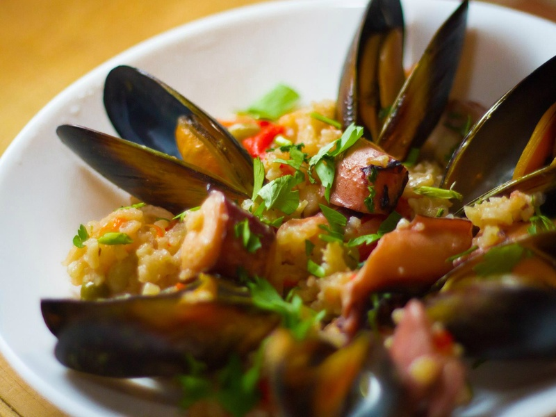 наступления подобного рецепты паэльи с морепродуктами ул