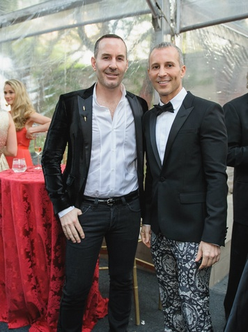 Brian Bolke, Faisal Halum at Art Ball 2014