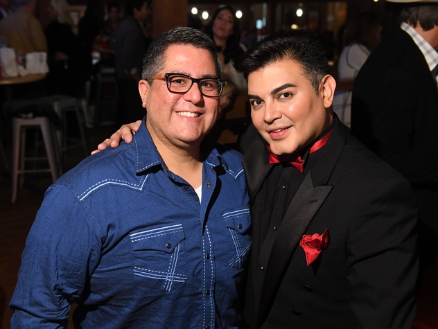 Houston, Kick Up Your Boots for Kids event, February 2018, Roland Maldonado, Edward Sanchez