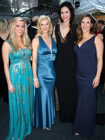 Toni Munoz Hunt, Bethany Huddlestone, Katie Touscher, Anne-Marie Myhre, art ball 2014