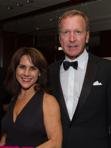 Maria and Neil Bush at the Big Brothers Big Sisters Gala September 2014