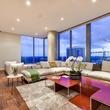 210 Lavaca Austin condo for sale living room