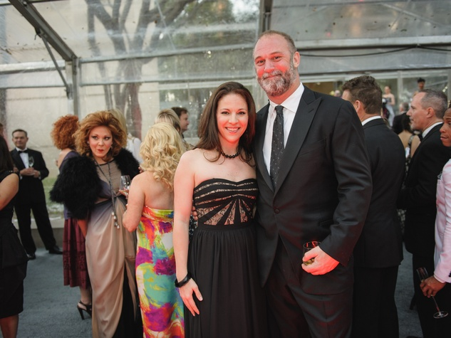 Erin Cluley, Tearlach Hutcheson at Art Ball 2014