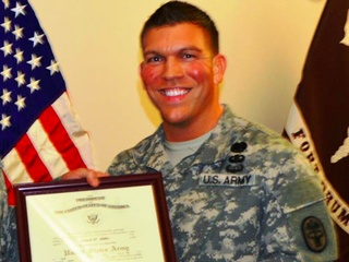 Fort Hood soldier Army Major Patrick Miller