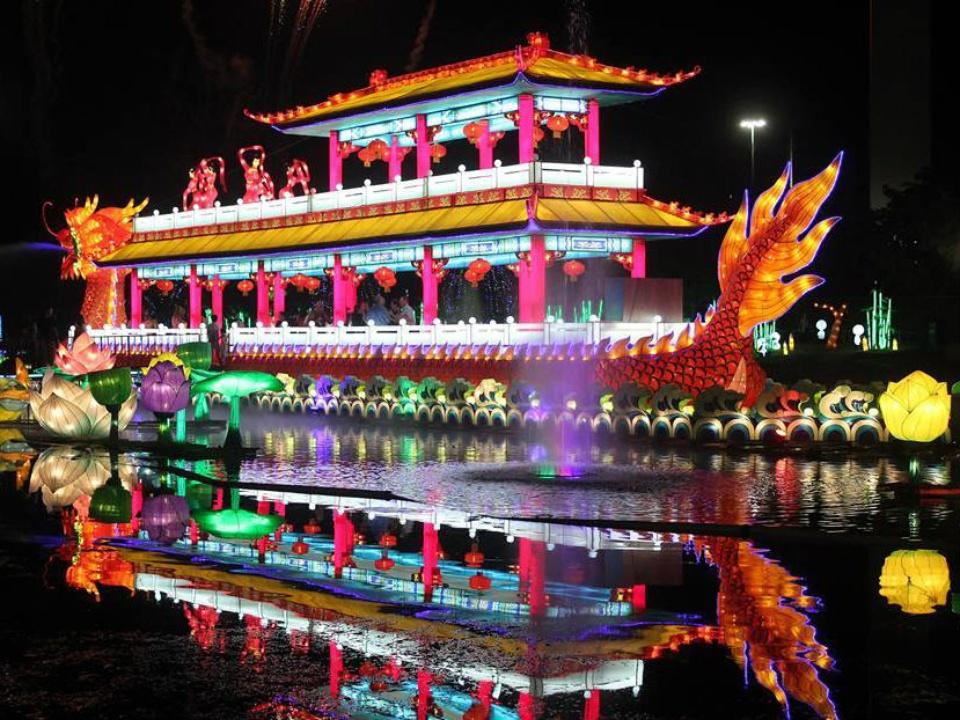 Chinese Lantern Festival at Fair Park in Dallas
