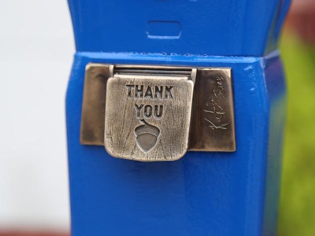 2 art parking meters Houston October 2013