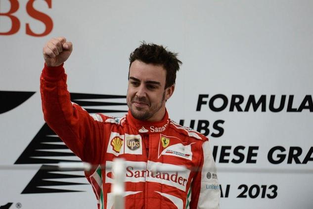 Fernando Alonso wins F1 Chinese Grand Prix