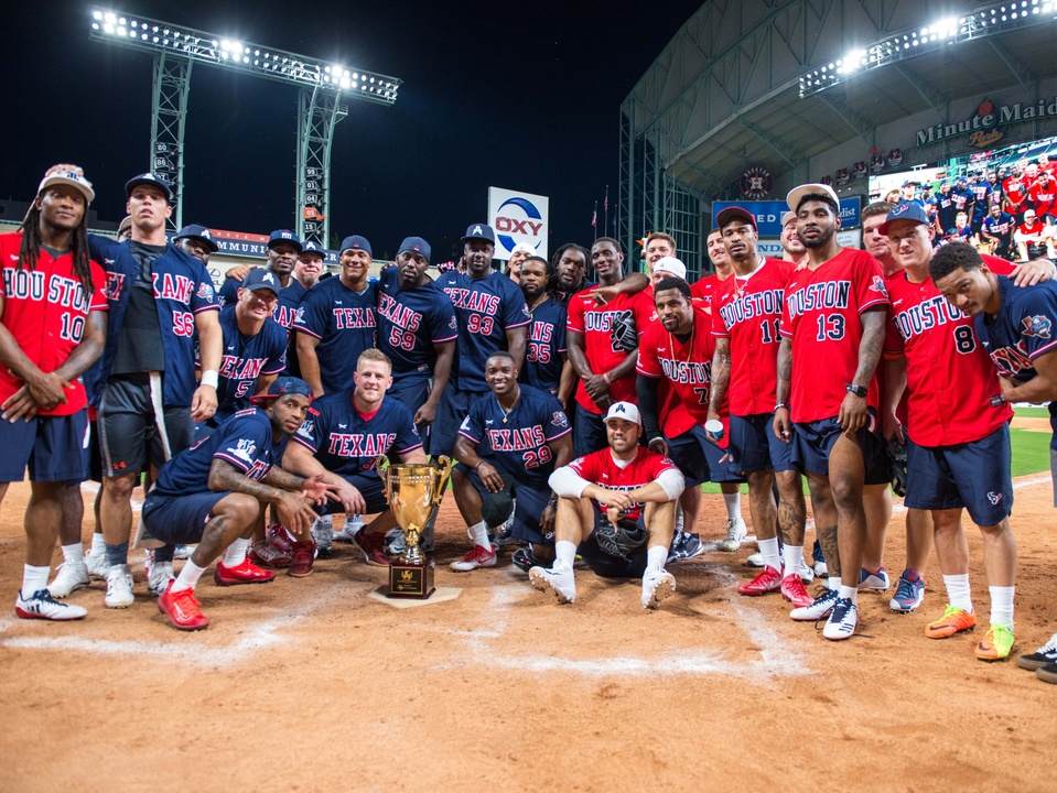 Houston, J.J. Watt Charity Classic, May 2017, teams
