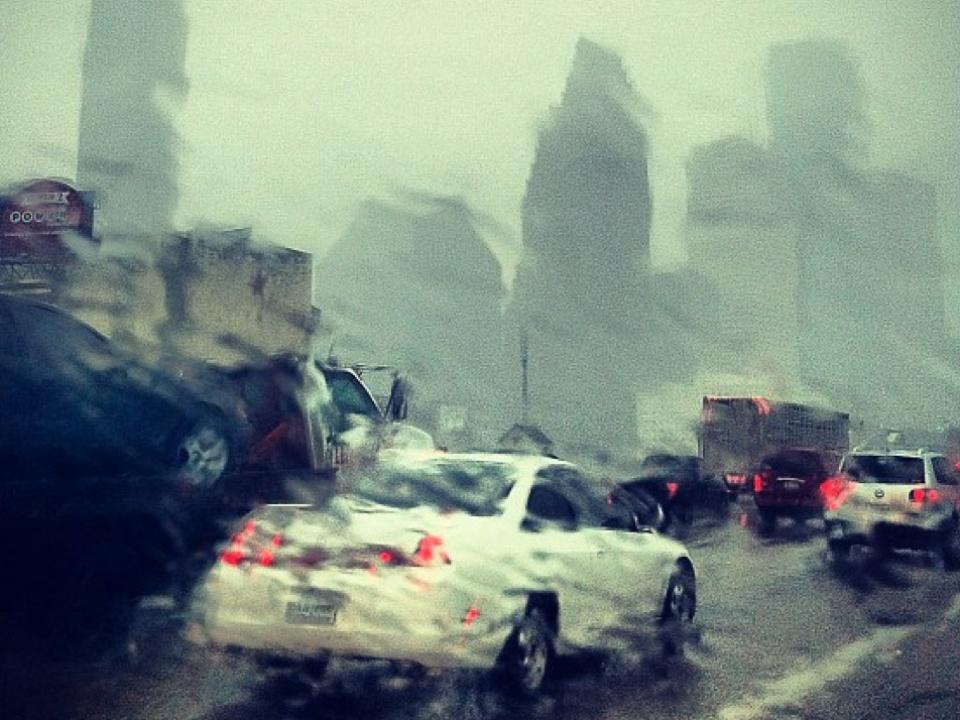 Houston, rain, storm, flooding, cars