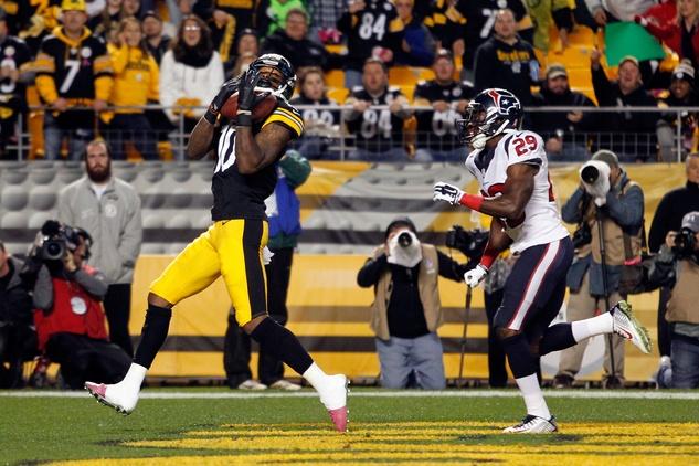 Steelers Texans touchdown