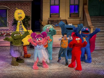 Sesame Street finds its way to Dallas for 50th anniversary celebration