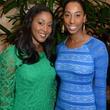 40 Venecia Dutton, left, and Shenequa Animashaun at the Houston Food Bank dinner April 2014