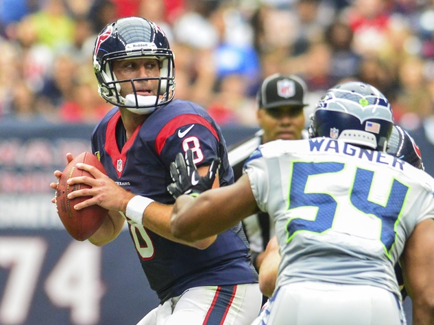Matt Schaub Texans pressure