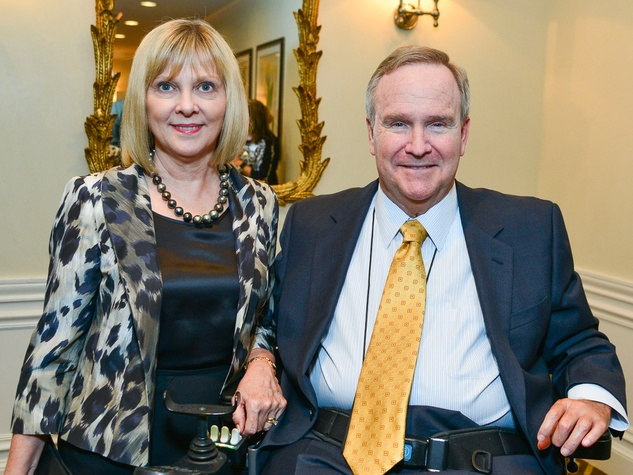 Beverly and Staman Ogilvie at the Center for Houston's Future dinner October 2013
