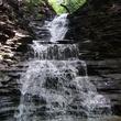 Chestnut Ridge Park waterfall