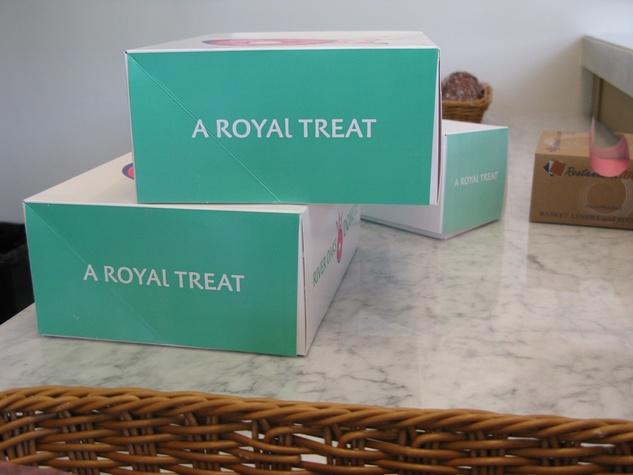 River Oaks Donuts June 2013 doughnut boxes