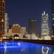 Pool at Fairmont Dallas hotel