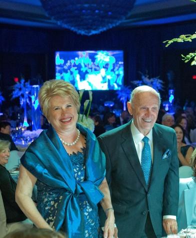 223 114 Ginger and Jack Blanton at Houston Methodist's Rendezvous in Blue Gala November 2013