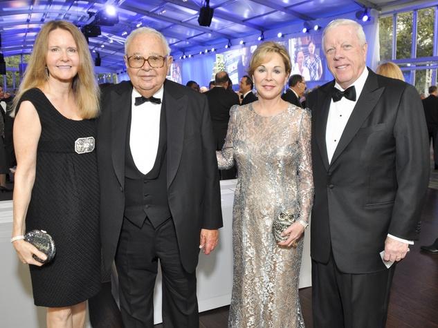 022, Rice University Centennial gala, October 2012, Dena Albee, Fayez Sarofim, Nancy Kinder, Rich Kinder