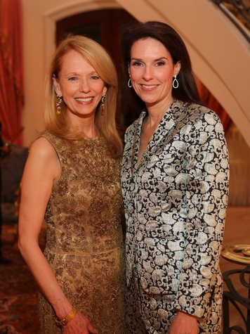 5 Susan Krohn, left, and Catherine Kaldis at the HGO Opera ball kick-off party January 2014