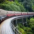 best fall travel destinations per National Geographic, September 2017, kuranda railway australia