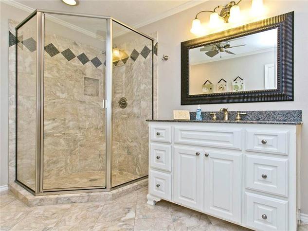 Bathroom at 9722 Boedecker in Dallas