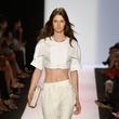 BCBG Max Aria crop top fashion week spring 2014