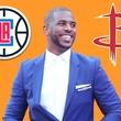 Houston, Pethouse Pet of the Week, June 2017, Chris Paul, Houston Rockets