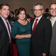 John Hernandez, from left, Terry Morales, David Ruiz and David Chaumette at the Mayor's Hispanic Heritage Awards event October 2014
